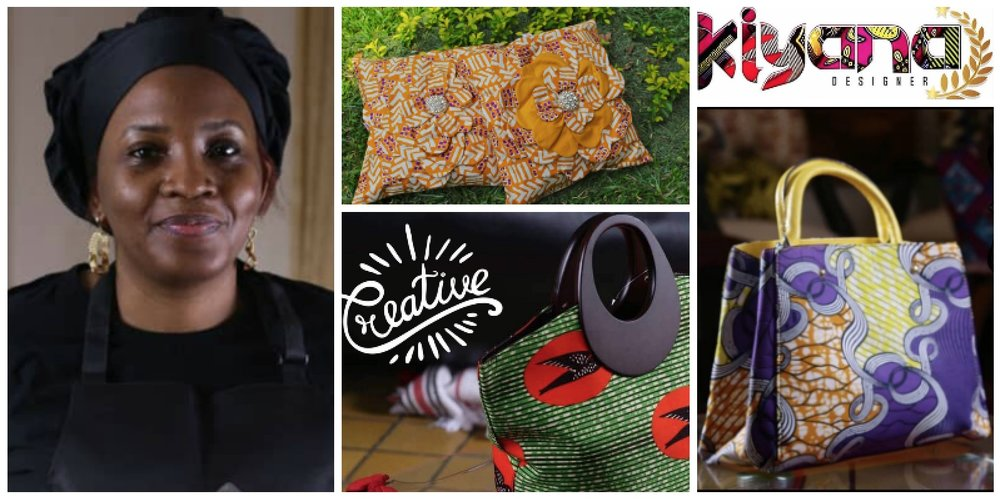 Tatiana Massangu Ilunga , founder of  Kiyana Design  (Cote d'Ivoire)
