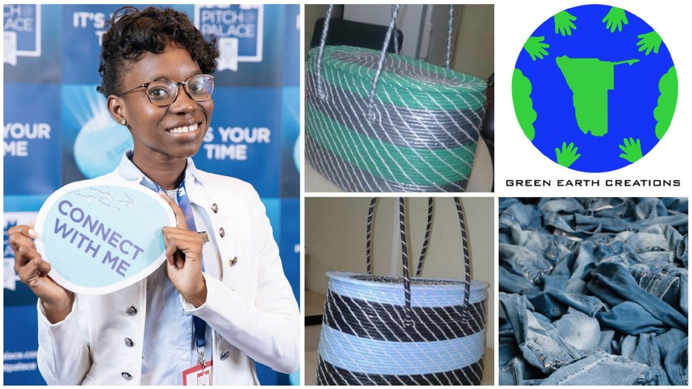 Liina Mutilifa , founder of  Green Earth Creations  (Namibia)