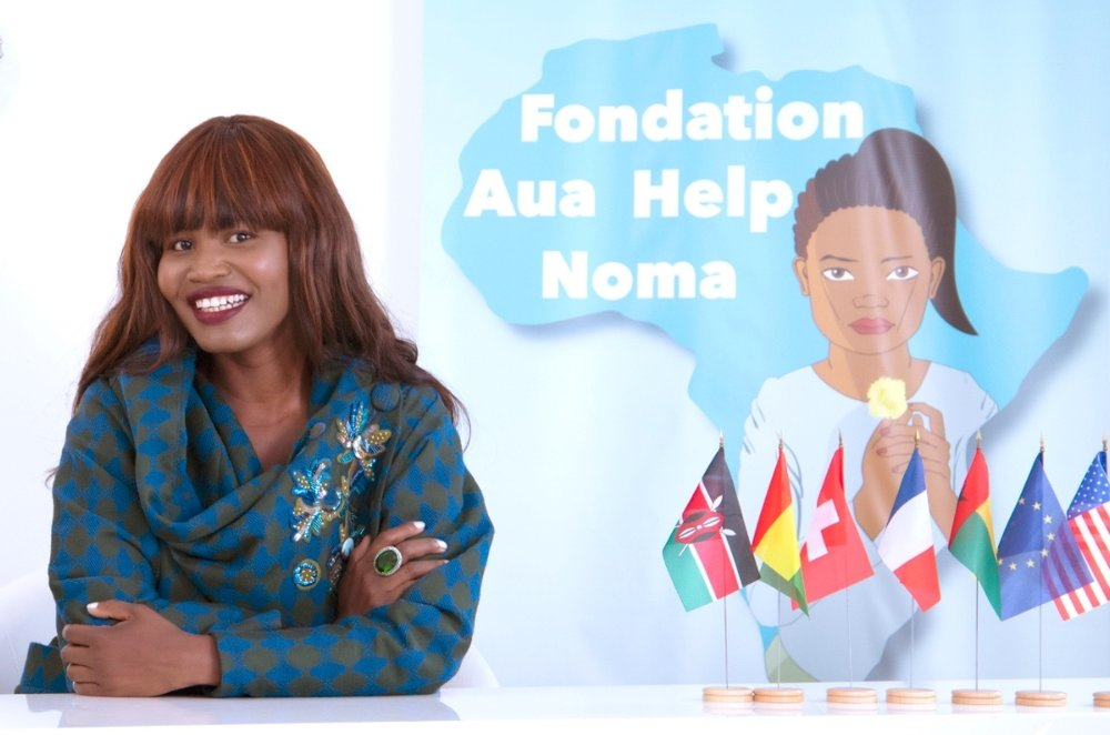 Lucille Gomes, founder of   AUA HELP NOMA -  (Photo Credit: Nathalie Fina)