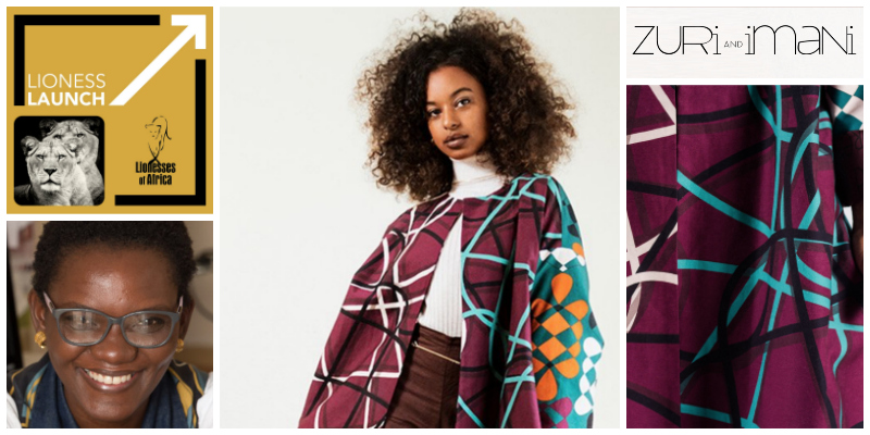 LIONESS LAUNCH: South African textile and design studio, Zuri and