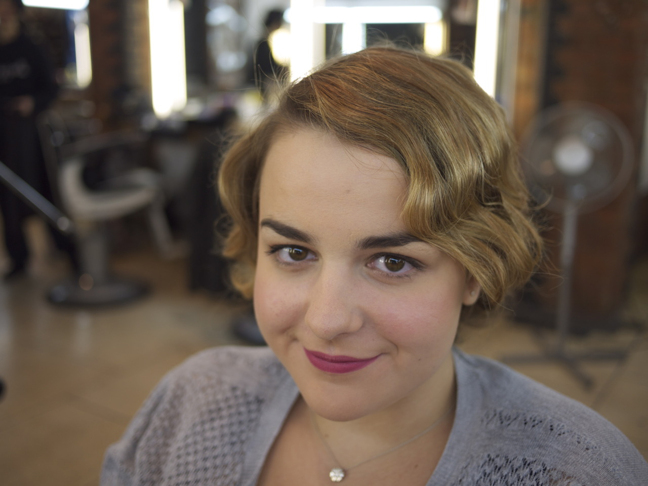 30's hair and make-up - November 2011   CB-MA London