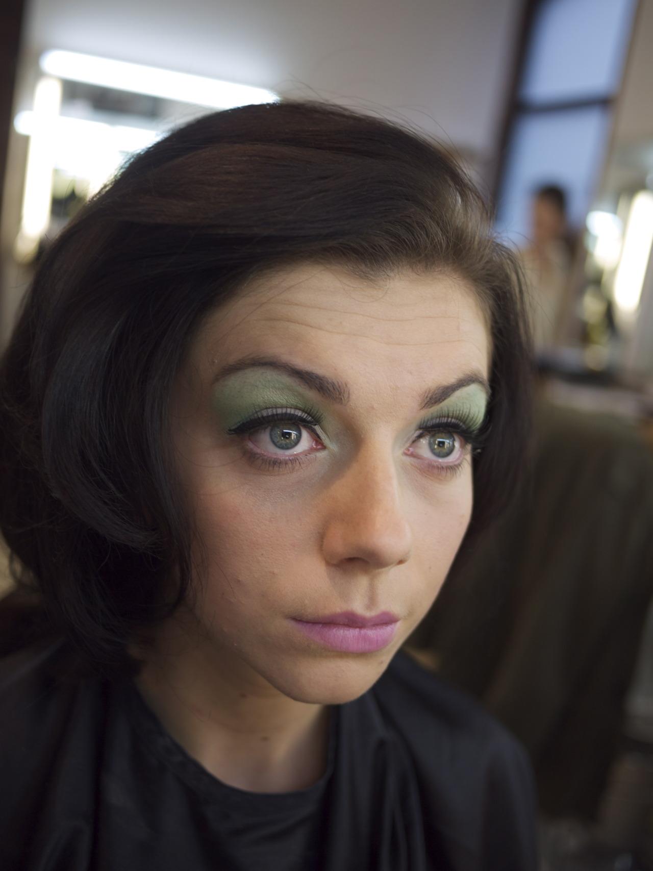 50's hair and make-up - November 2011   CB-MA London