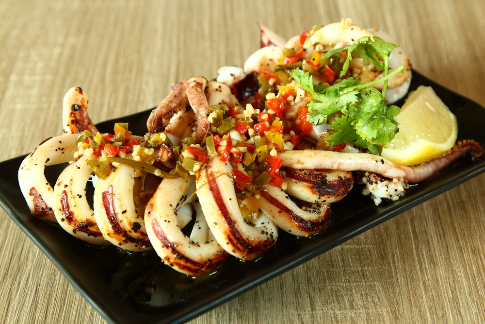 Momma Kong's Grilled Squid