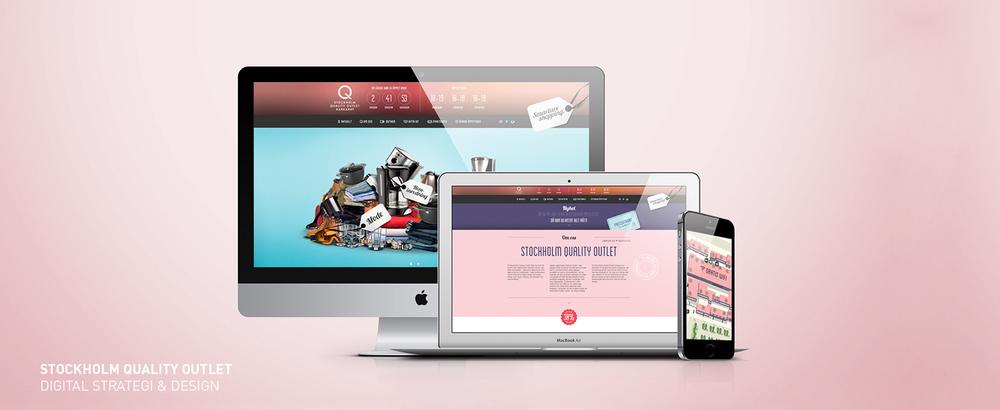 Stockholm Quality Outlet - Digital strategi & Design