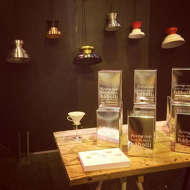 All set at the FindersKeepers market in Copenhagen - opening tomorrow 10:45 at Lokomotiv værkstedet  #finderskeepersdk #hochdietassen #reclaim #porcelain #hendricksgin #theoriginals #christmas2018 #julegave #cupdesign #cocktailglass #flyingcup #icelandicdesigner #icelandicdesign #madeindenmark