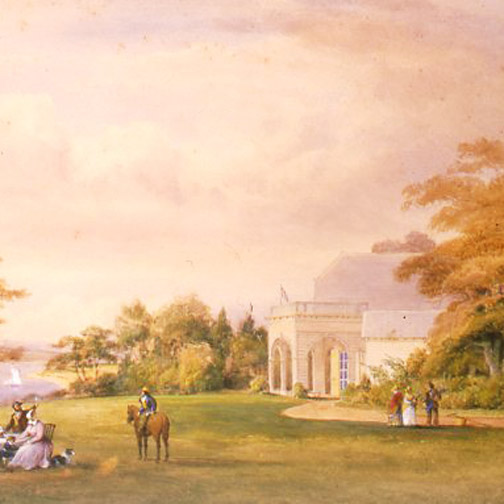 The Cottage circa 1820