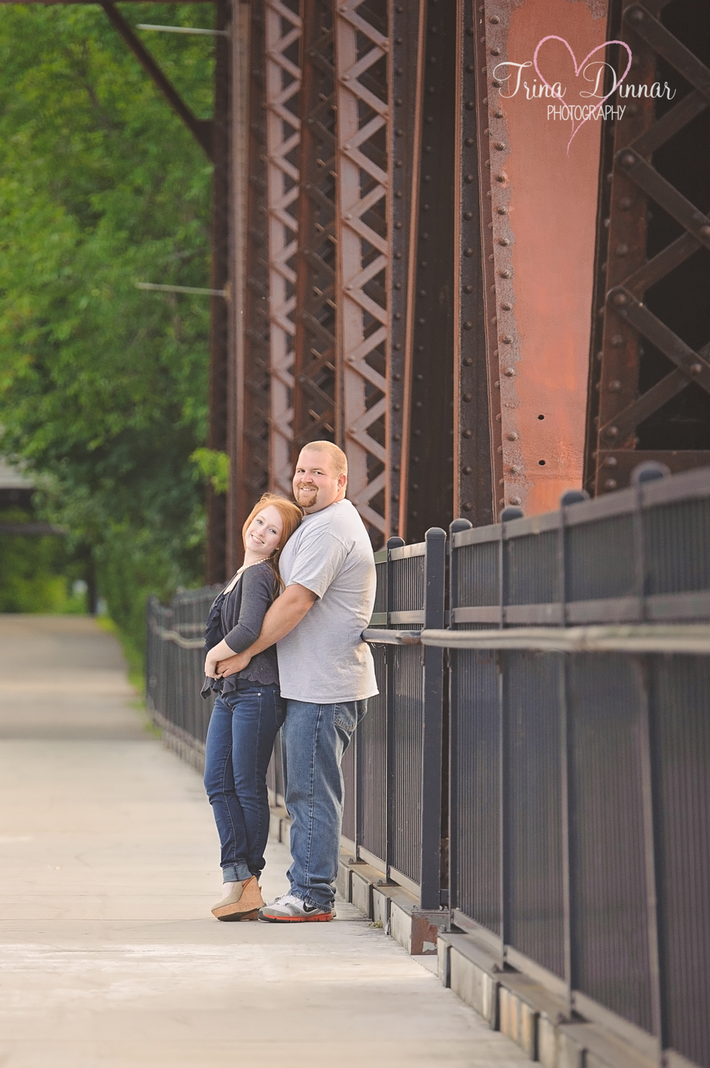 Jessica and Kyle's Engagement Photography session in Lewiston, Maine