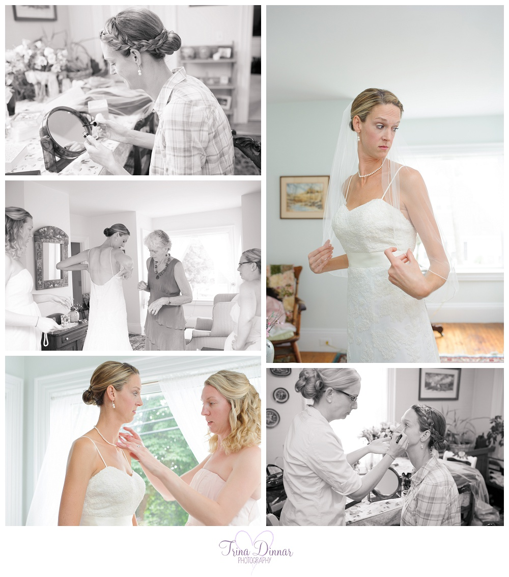 Wedding in Boothbay Harbor Maine