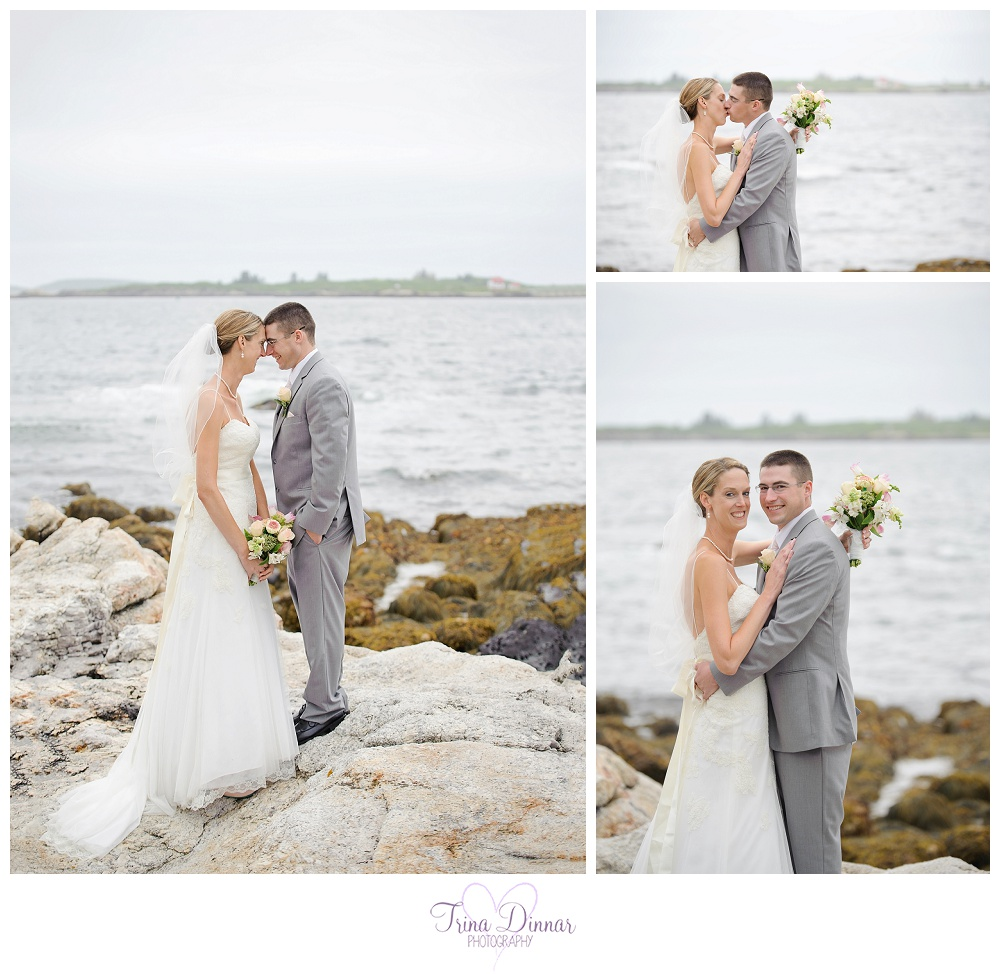 Boothbay Harbor Coastal Maine Wedding