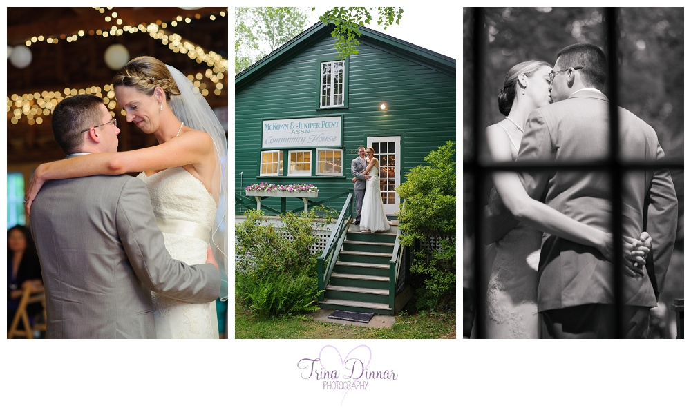 McKown Juniper Point Community House Wedding Boothbay Harbor Maine