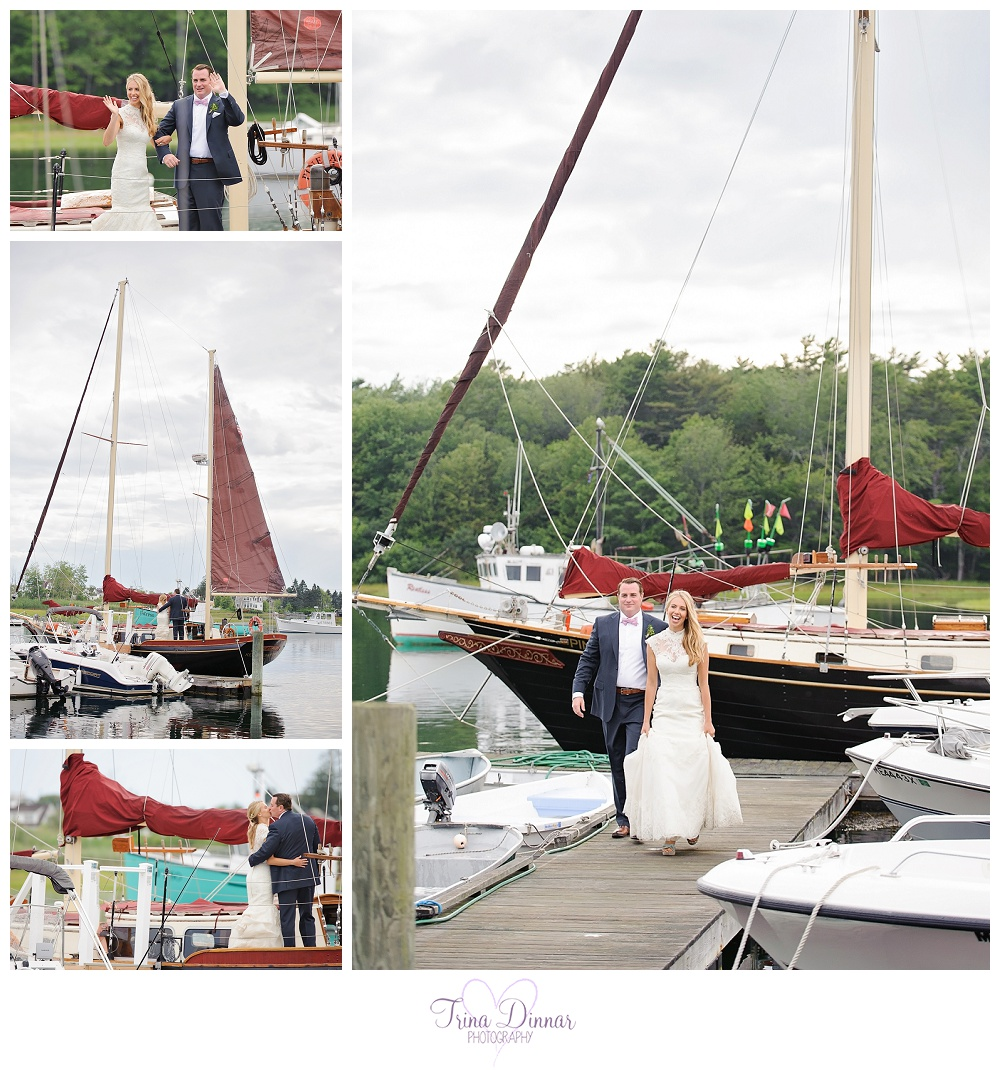 The Pineapple Ketch - Kennebunkport Maine Weddings