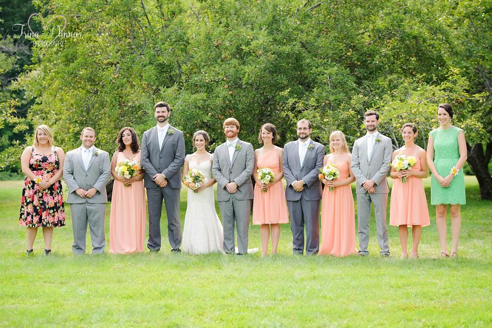 Gender Neutral Wedding Party