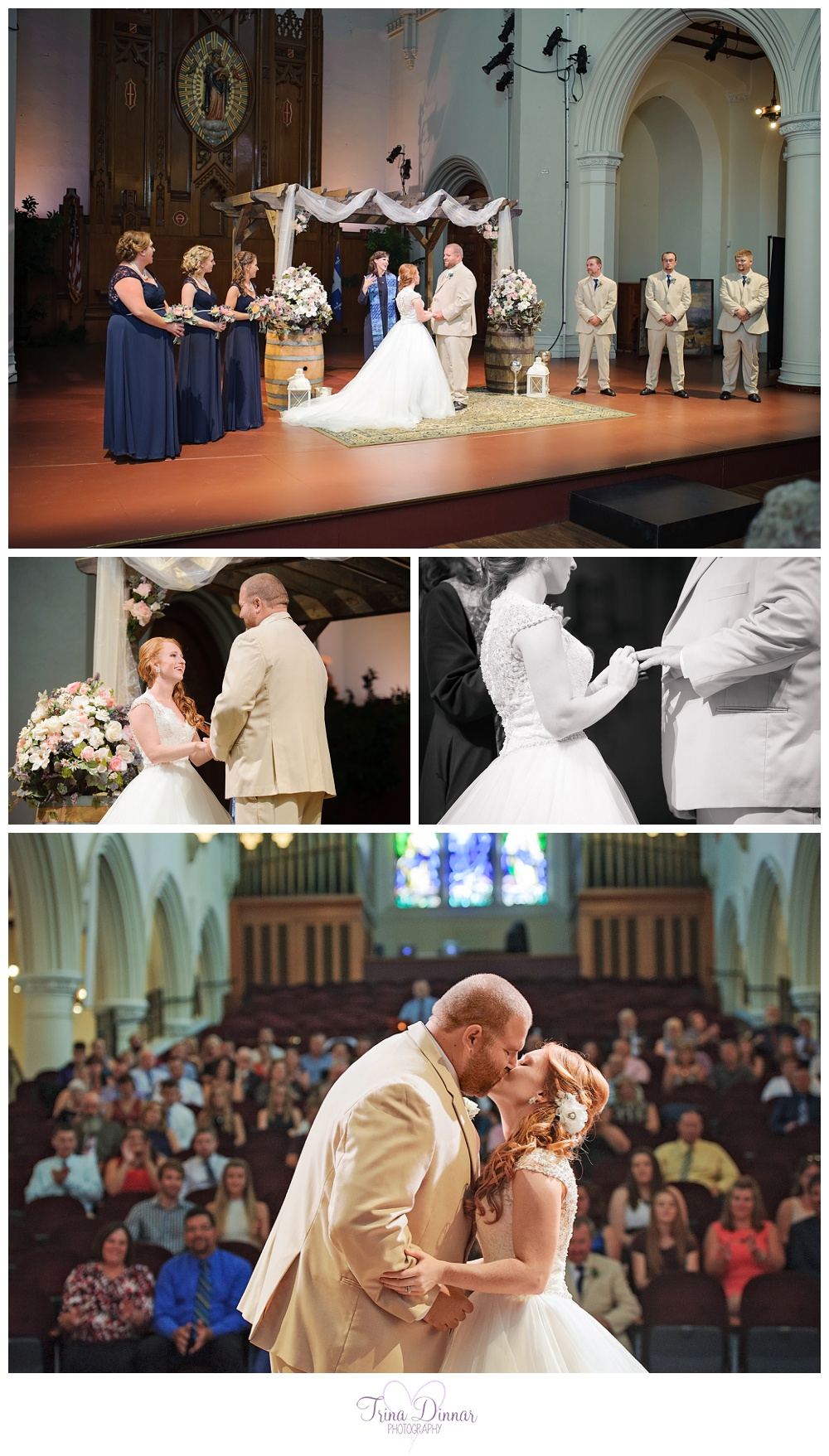 Franco American Heritage Center Wedding
