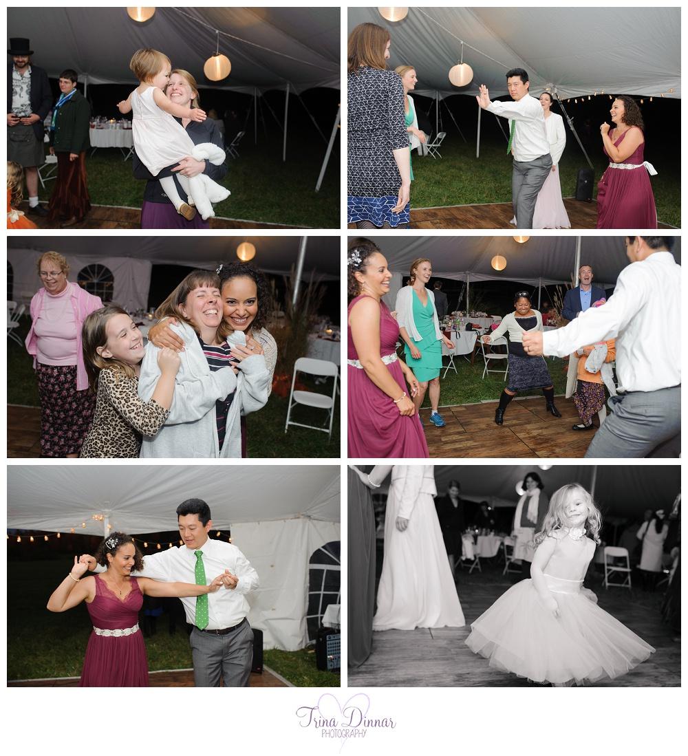 Maine Wedding Reception Dancing