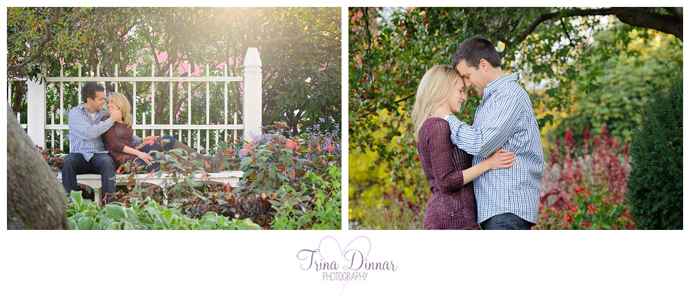 Maine Wedding Photographer - Engagement in Prescott Park