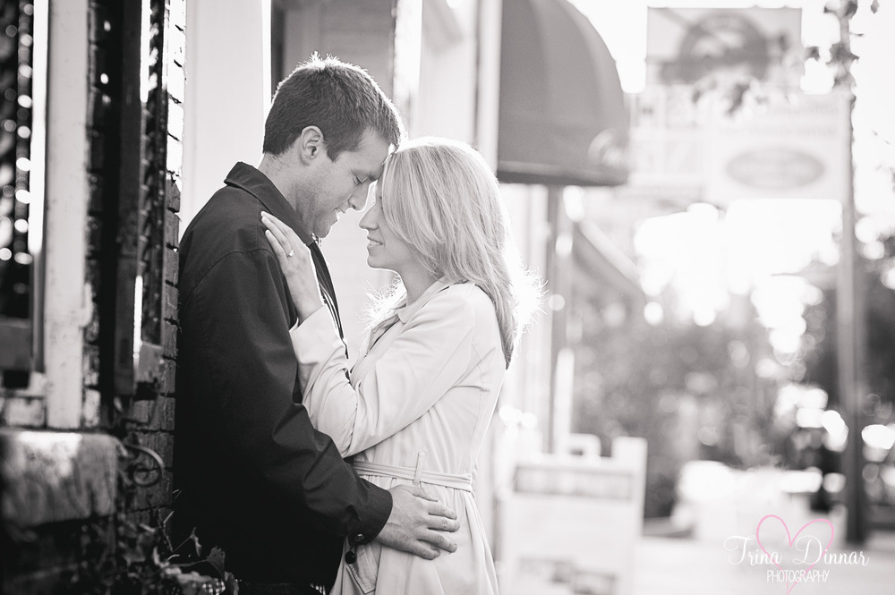 Engagement photography in Maine