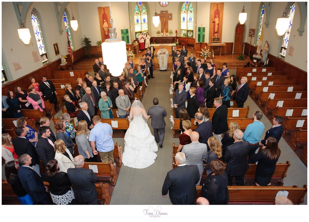 Catholic Maine Church Wedding