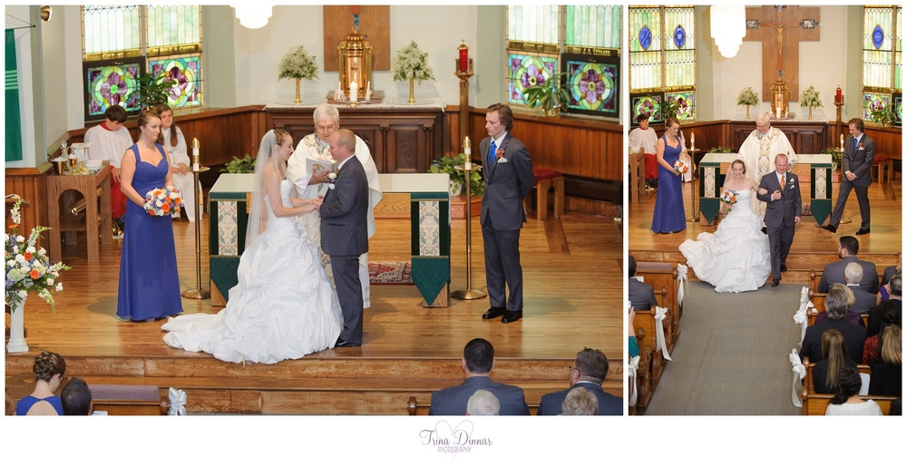 Maine Church Wedding