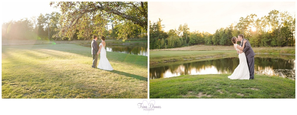 Wedding Photographer at William Allen Farm in Pownal, Maine