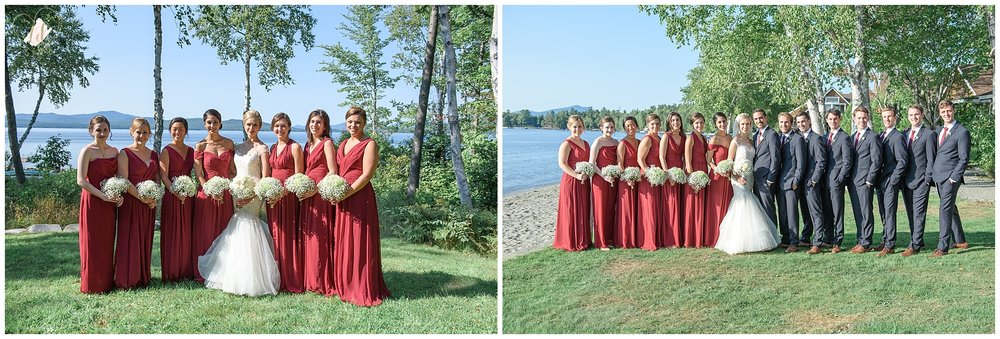 Lake and Mountain Wedding Portraits
