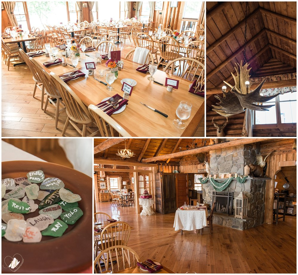 Bald Mountain Camps Resort Wedding Venue in Maine.