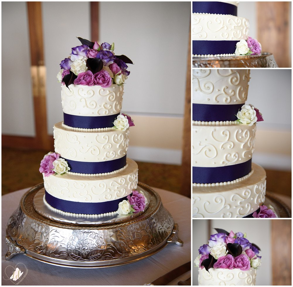 Maine Wedding Cake from  Darci Lynn Chickering-Morris of  The Sugar Tree.