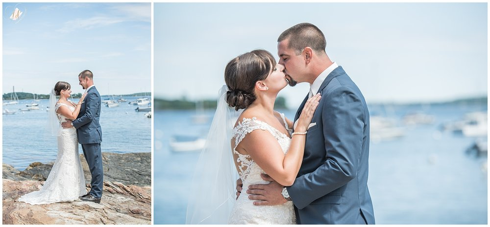 Falmouth Maine Wedding Photographer Bride Groom Portraits