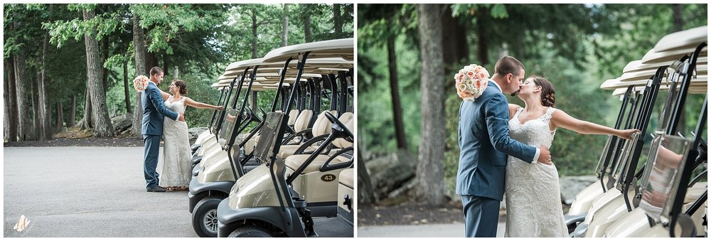 Harris Golf Falmouth Wedding Portraits