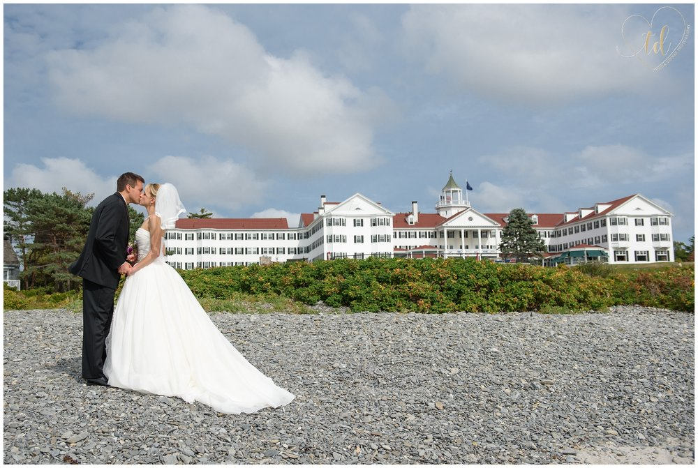 The Colony Hotel Wedding in Kennebunkport, Maine.