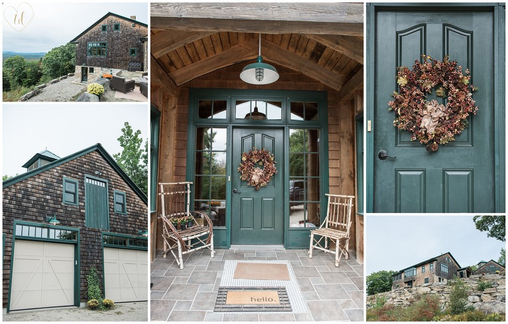 Granite Ridge Estate in Norway, Maine offers lodging with Mountain views and is an luxury destination wedding venue.