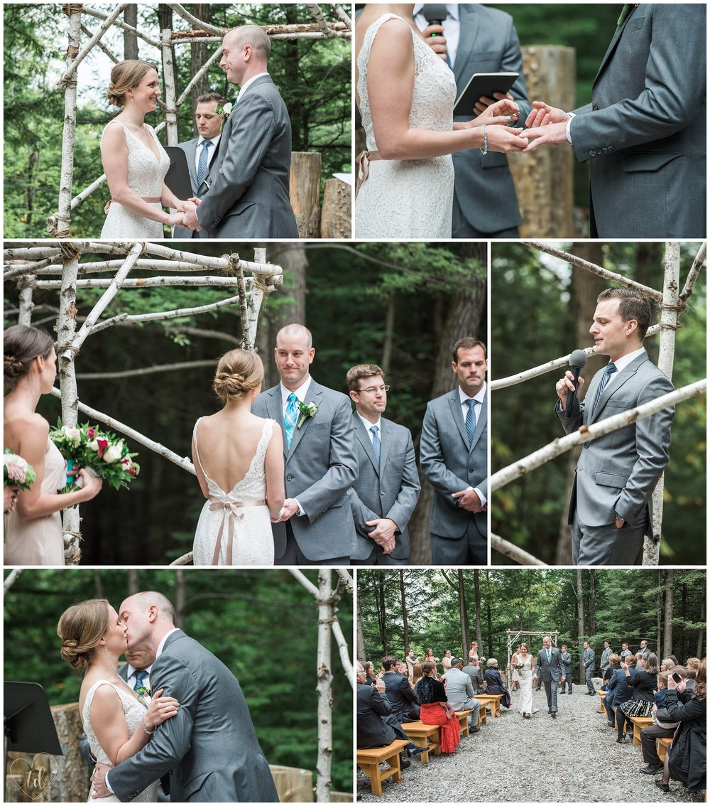 Granite Ridge Estate & Barn Norway Maine Wedding