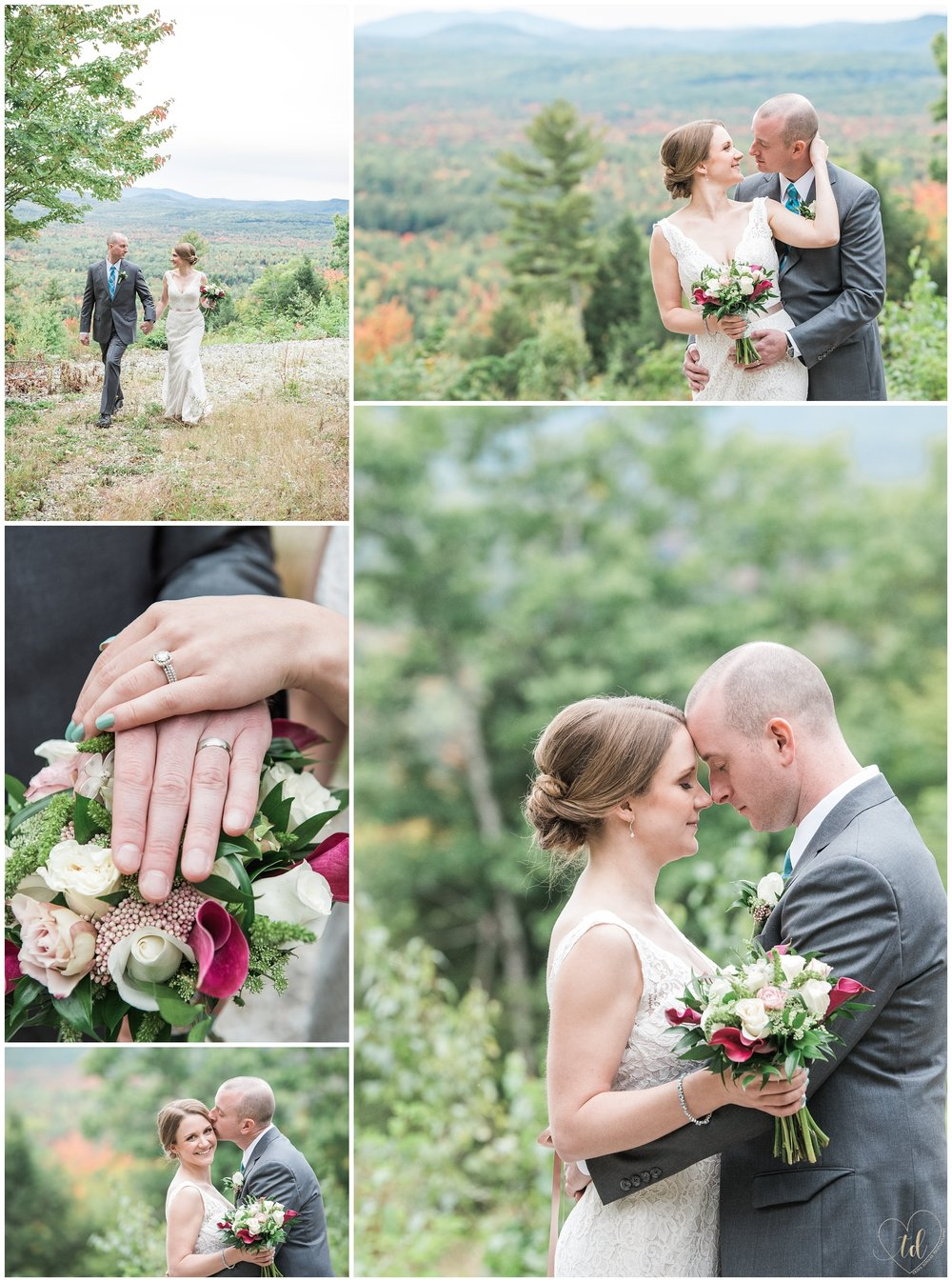 Ann Marie and Andy's Granite Ridge Estate and Barn Wedding portrait photography.