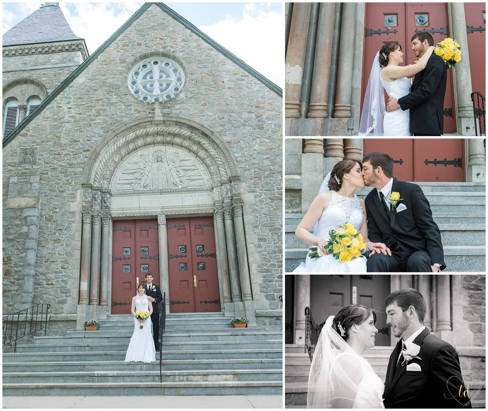 A Yarmouth Maine Wedding Photographed by Trina Dinnar.