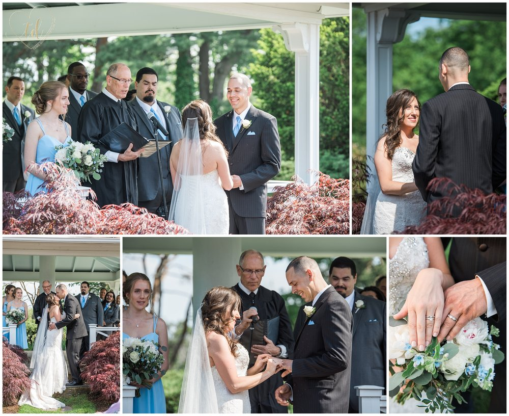 Wedding Ceremony at the Wentworth by the Sea in New Castle, NH