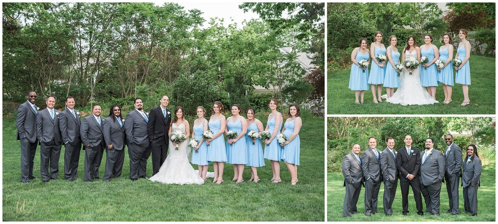 New Hampshire Wedding Party Portrait Photography