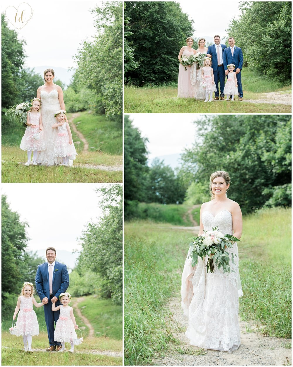 Maine Ski Resort Wedding Portraits