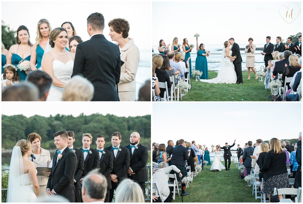 Stage Neck Inn Maine Wedding Ceremony
