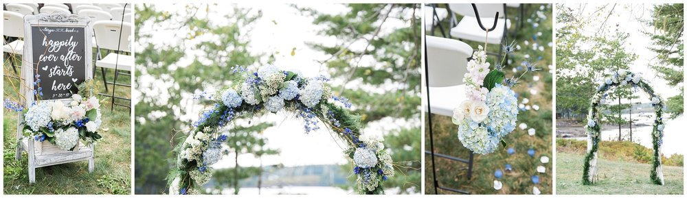 Blue Fern Designs Maine Wedding Florist
