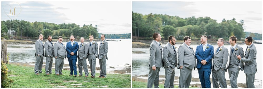 Wedding portraits in Midcoast Maine