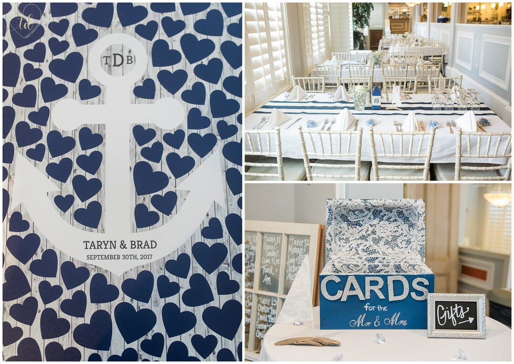 Photos of Nautical Maine Wedding Details