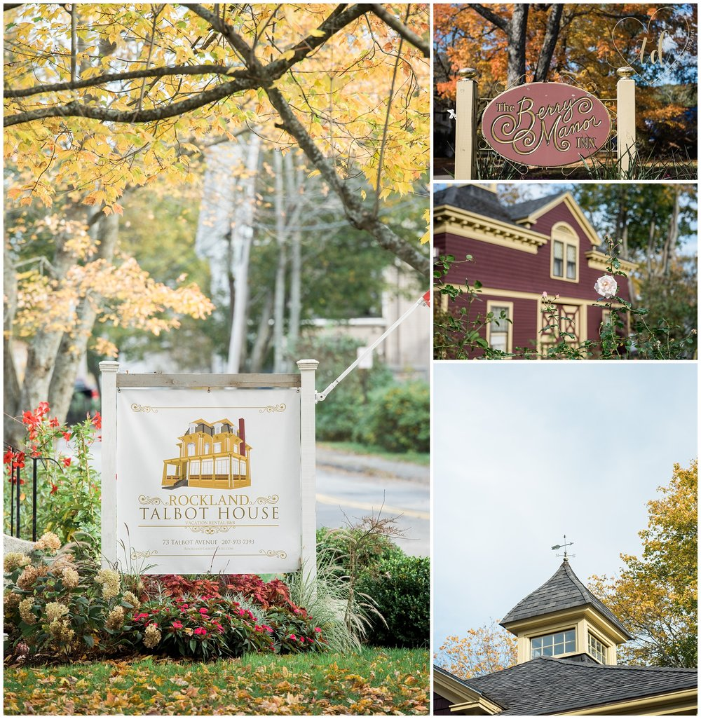 The Rockland Talbot House and Berry Manor Inn in Rockland, ME