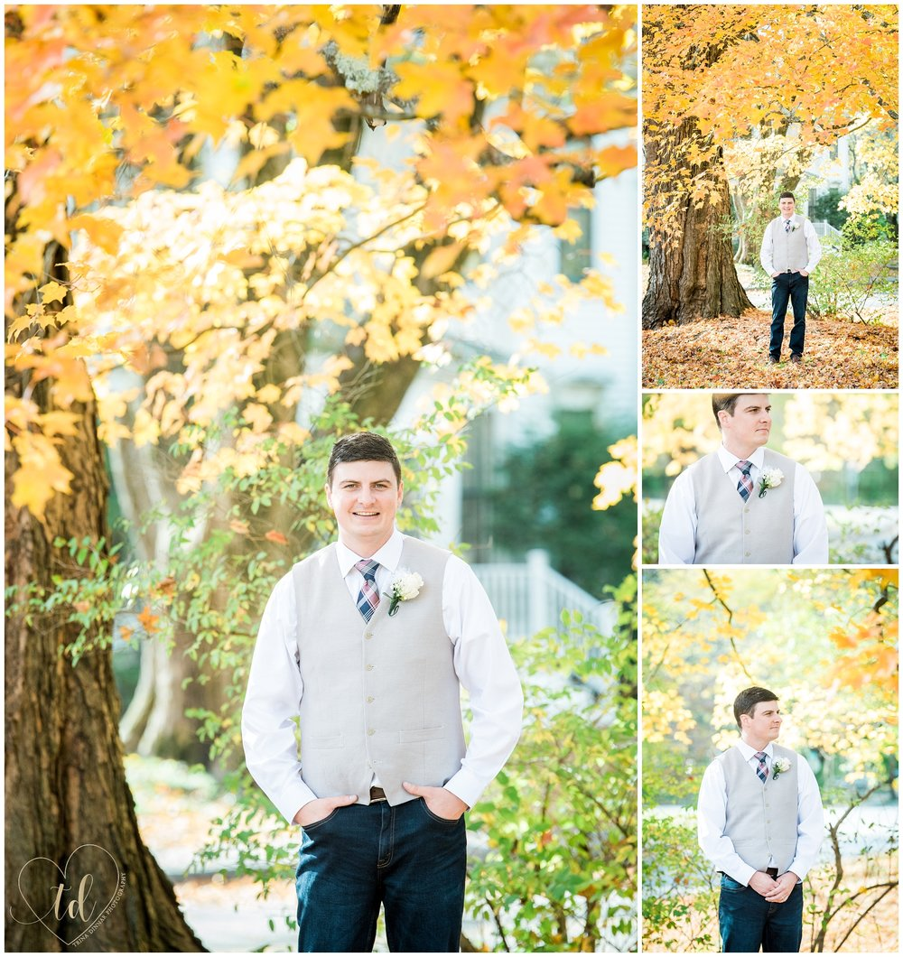 Maine Groom Portrait Photography in Rockland