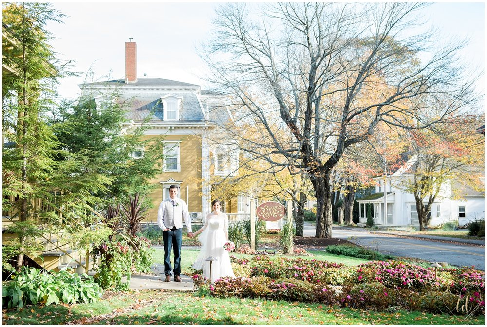 Rockland Talbot House Maine Wedding