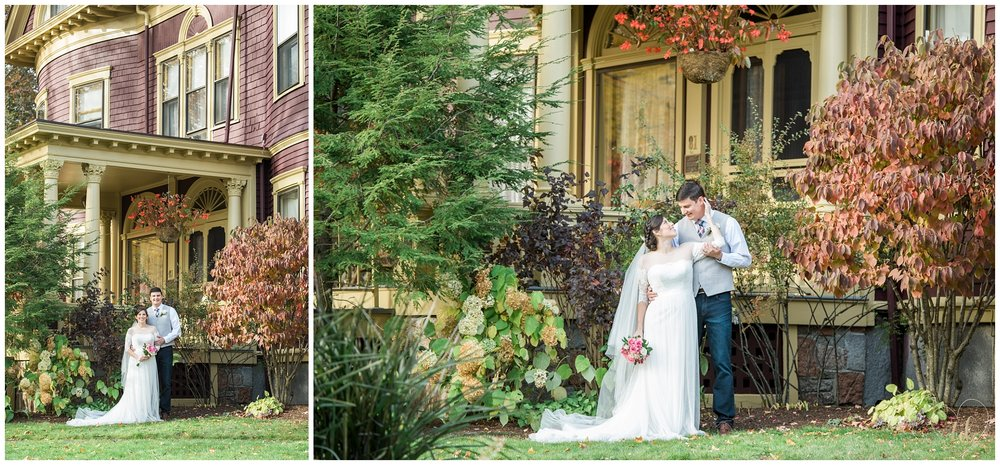 Rockland Maine Wedding Photography at the Berry Manor Inn