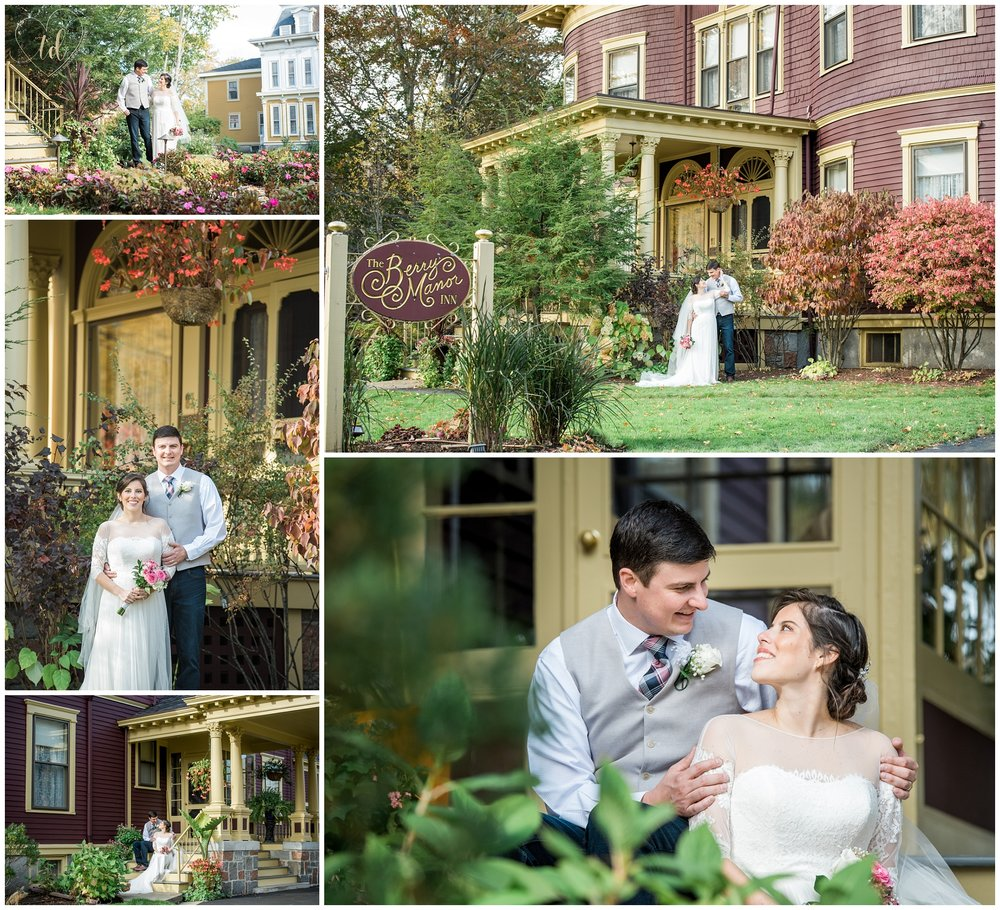 Berry Manor Inn Rockland Maine Elopement