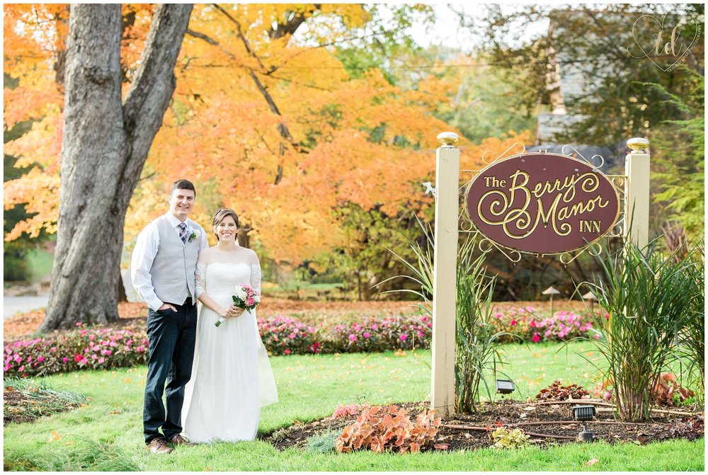 Berry Manor Inn Maine Wedding