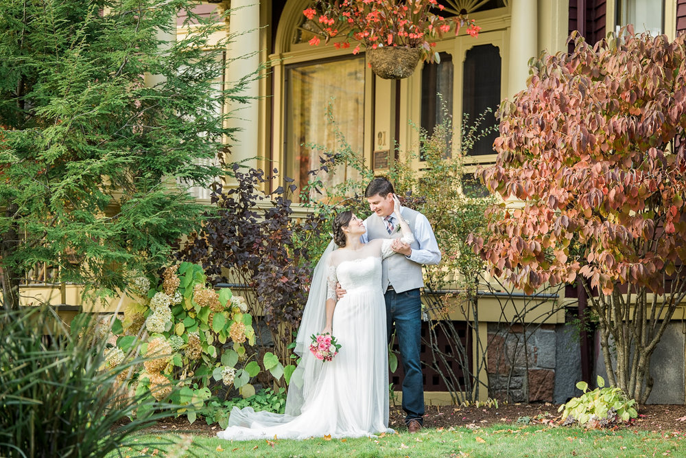 Berry Manor Inn Rockland ME Wedding
