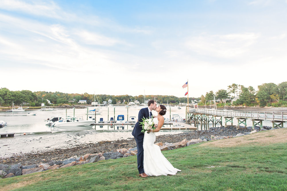 Dockside Restaurant York Harbor Maine Wedding