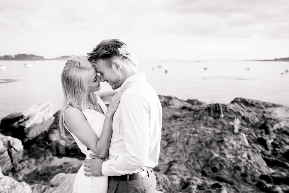 Southern Maine Engagement Portrait Photography