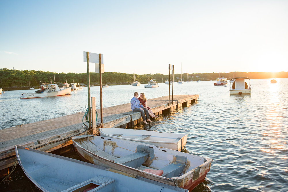 Engagement Photographer in Portland Maine